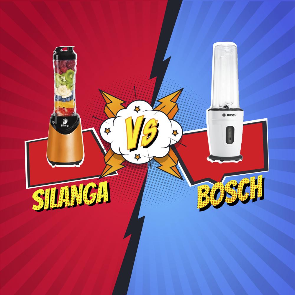 Сравнение Silanga BL550 против Bosch MMBM 401
