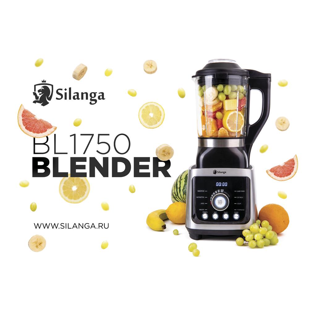Обзор реальных возможностей блендера Silanga BL1750 GLA